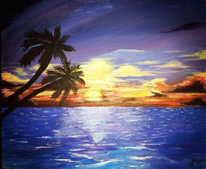 Tropical Sunset - Charlotte XU