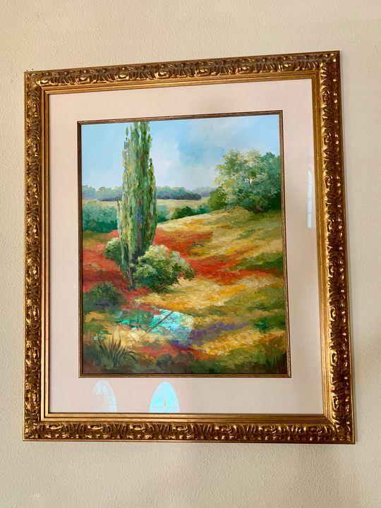 Original watercolor - Karen