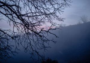 Countryside Spanish Winter Sunset VI