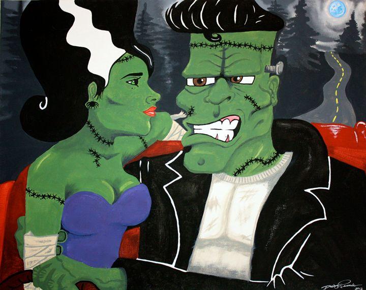 Mr. and Mrs. Frankenstein - Dusty Pewonka