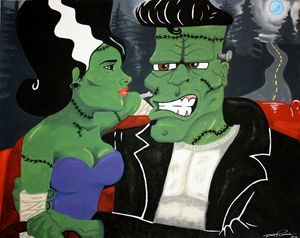 Mr. and Mrs. Frankenstein