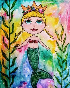 Mermaid princess - Pieces of Joy