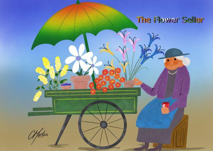 The Flower Seller - Chris Martin