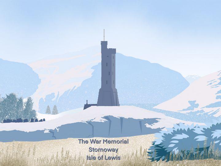 The War Memorial, Isle of Lewis. - Chris Martin