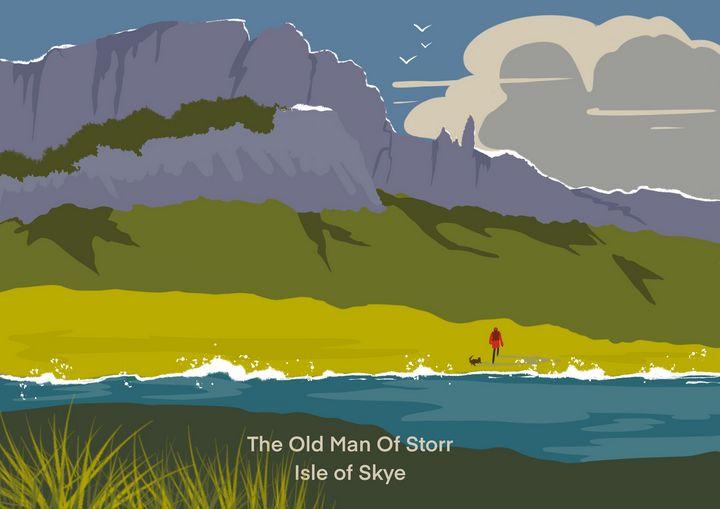 The Old Man Of Storr - Chris Martin