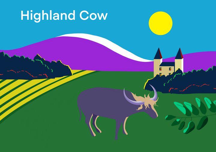 The Highland Cow. - Chris Martin