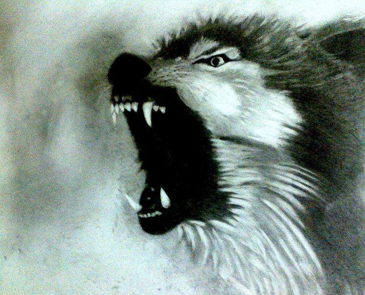 Creatures of the Night - Relic Pencil Art