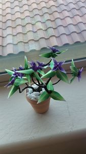 Origami Bonsai Potted Plant Small - JelliArt