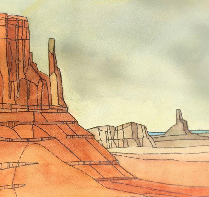 Desert - IanMorrisArt