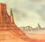 original painting desert