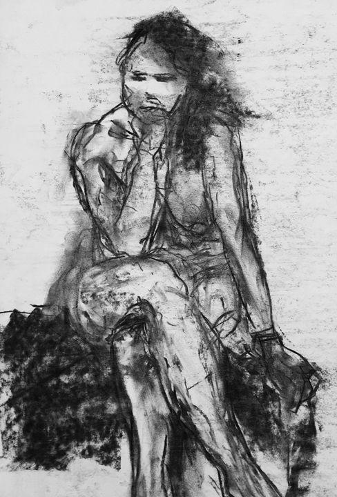 female nude 1595 - IanMorrisArt