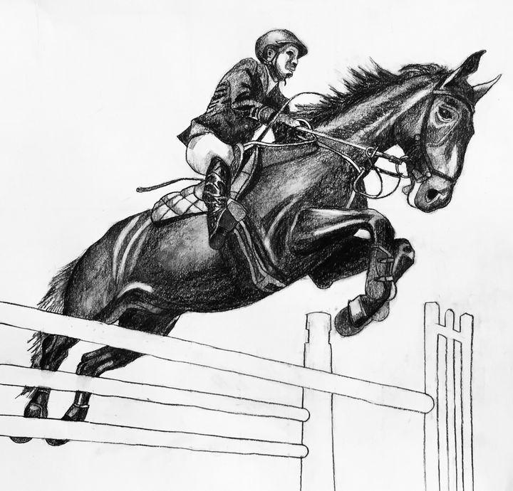 Dark Horse - IanMorrisArt