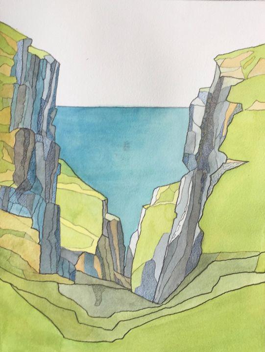 Scottish Island - IanMorrisArt