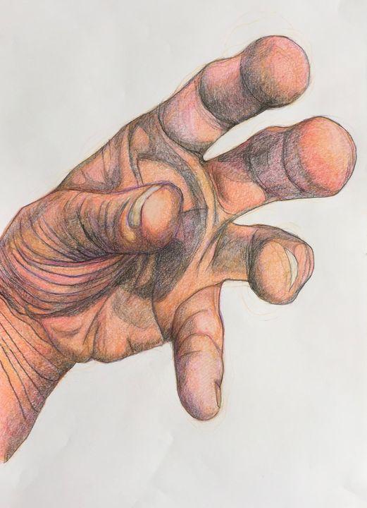 Original drawing. Hand - IanMorrisArt