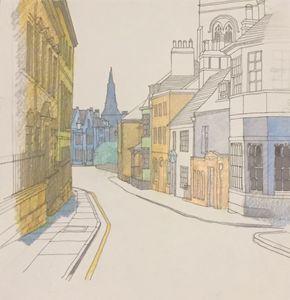 Stamford, original sketch - IanMorrisArt