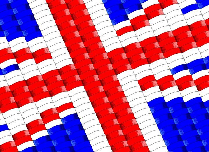 British Flag - Geometry
