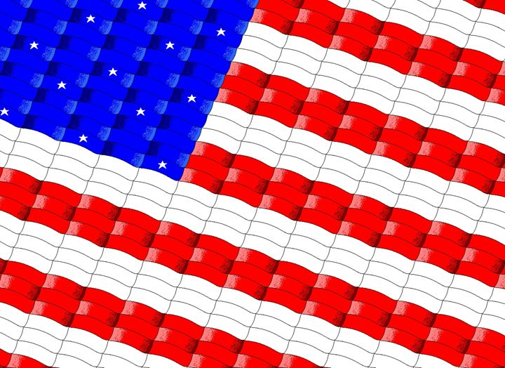 US Flag - Geometry