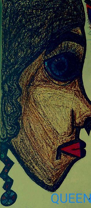 Puzzled look - Iris creative Art