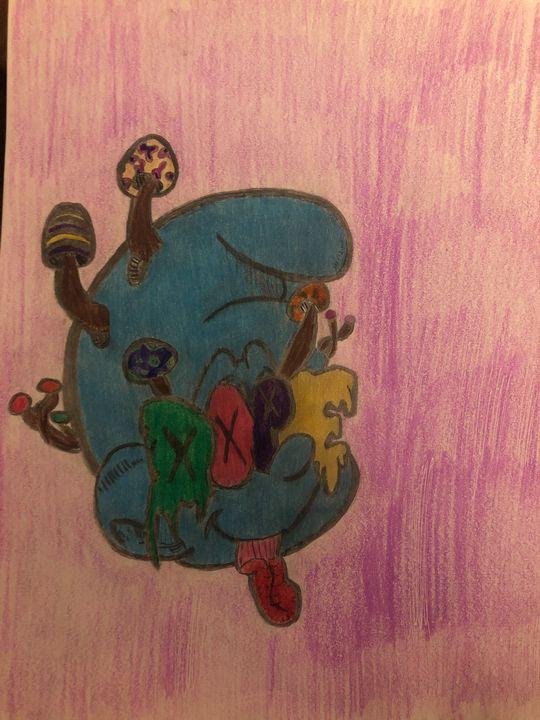 Dope smurf - Trippy drippy hippy