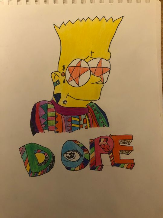 Dope Bart - Trippy drippy hippy