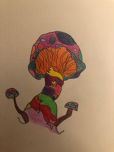 Magic mushroom - Trippy drippy hippy