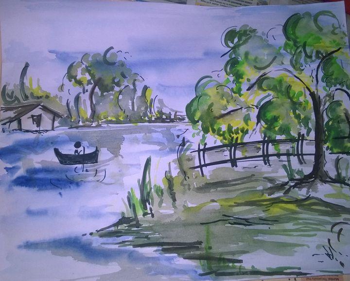 art by liki vijendra - i paint my dreams