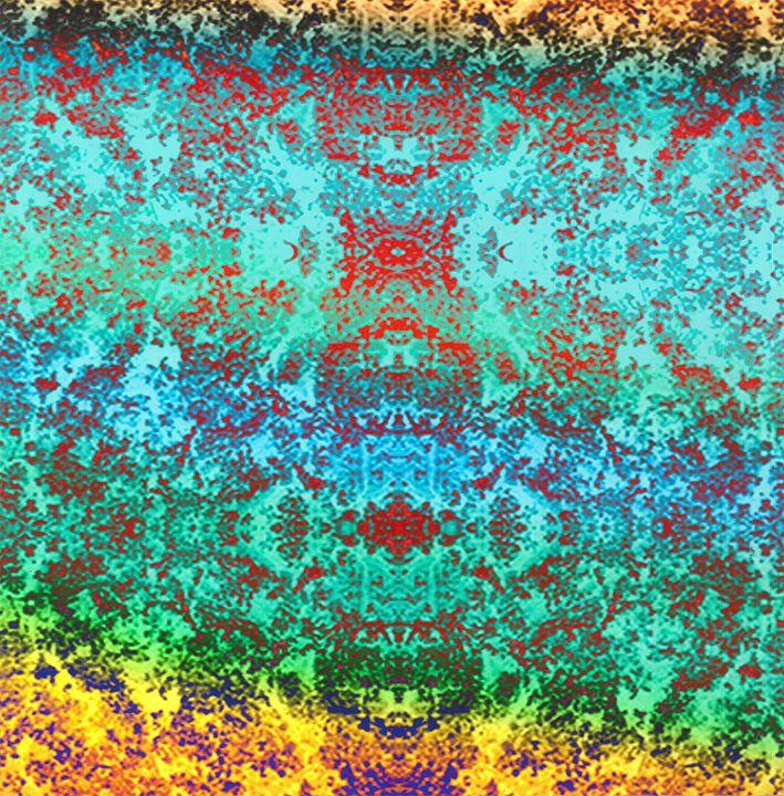 Psychedelic Moss Pattern - Rosina