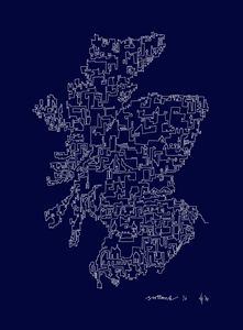 Scotland in Blue