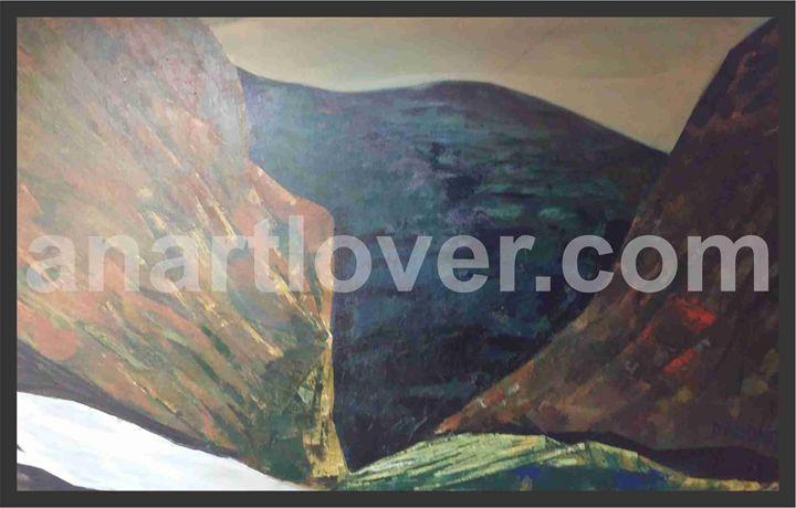 Mountain & Valley - An Art Lover