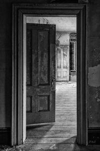 Empty Room I BW