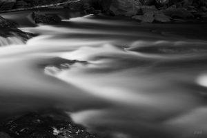 Ten Mile River IV Hunts Mills BW