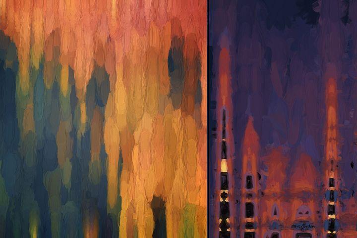 Color Abstraction LIV - Dave Gordon Arts
