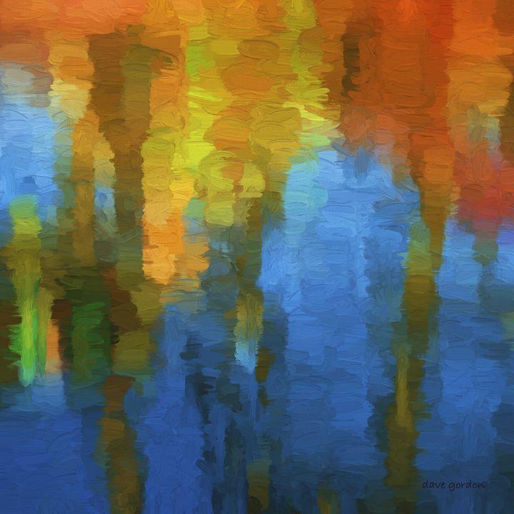 Color Abstraction XXXI - Dave Gordon Arts