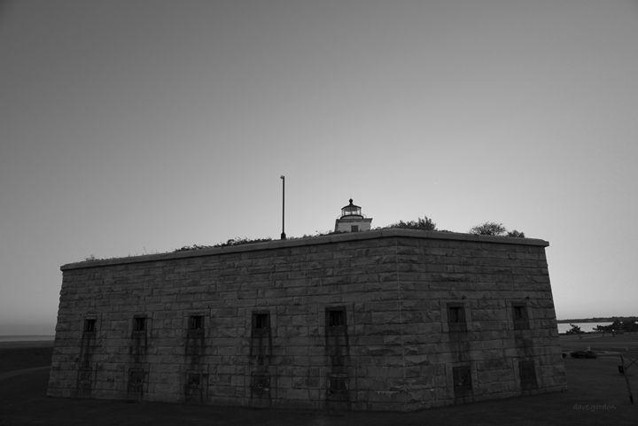 Fort Taber NB II BW - Dave Gordon Arts