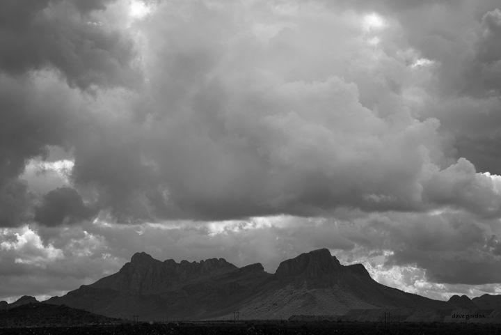 Tucson V BW - Dave Gordon Arts