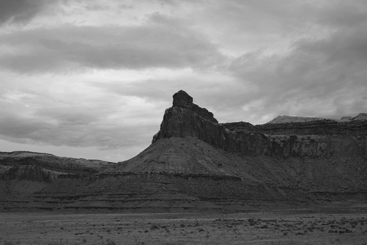 Canyonlands NP I BW - Dave Gordon Arts