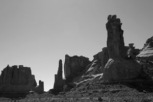 Arches NP XII BW
