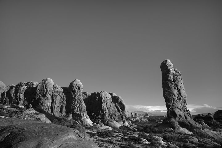 Arches NP XV BW - Dave Gordon Arts