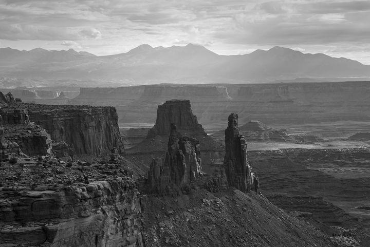 Canyonlands NP III BW - Dave Gordon Arts