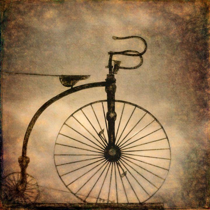 Antique Bicycle I - Dave Gordon Arts