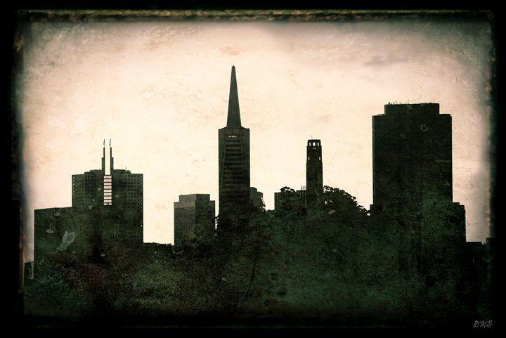 San Francisco V - Dave Gordon Arts