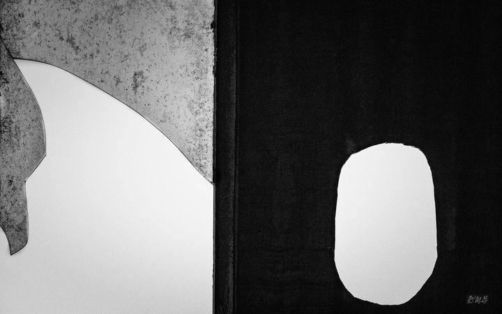 Untitled VI 2018 BW - Dave Gordon Arts