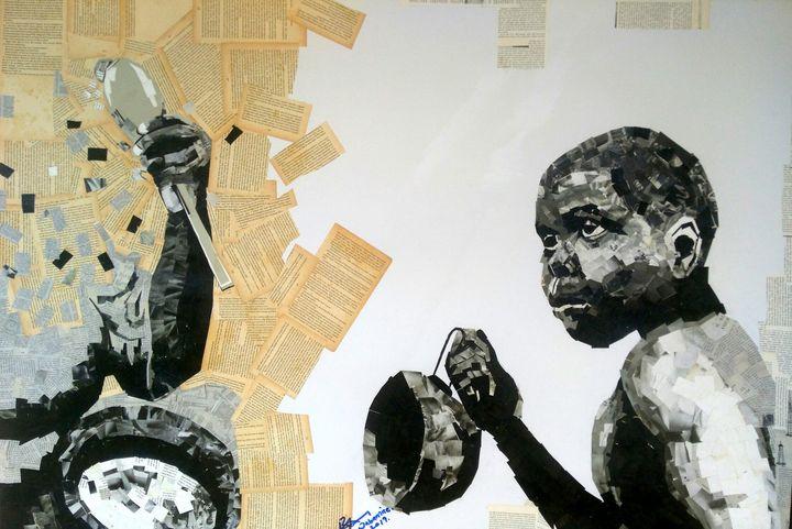 Unexpected 2 - Oluwabamise artworks