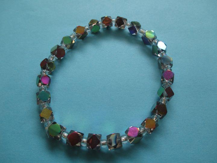 Multi-Color Bracelet - One of a Kind Crafts
