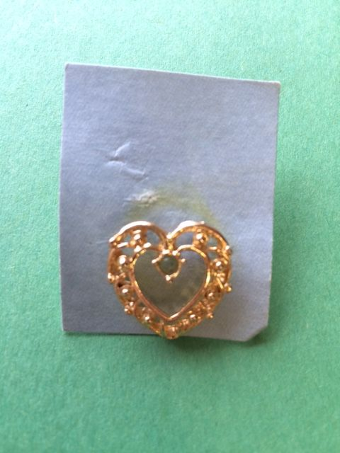 Heart Ring - One of a Kind Crafts