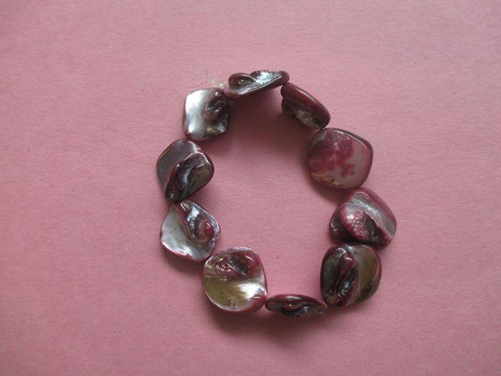 Pink Bracelet - One of a Kind Crafts