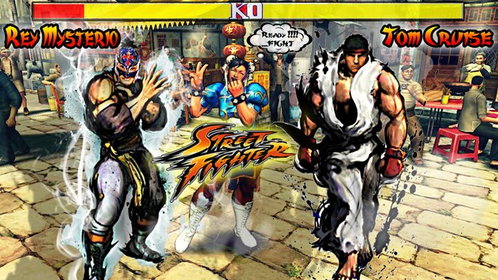 street fighters - my graphic designs