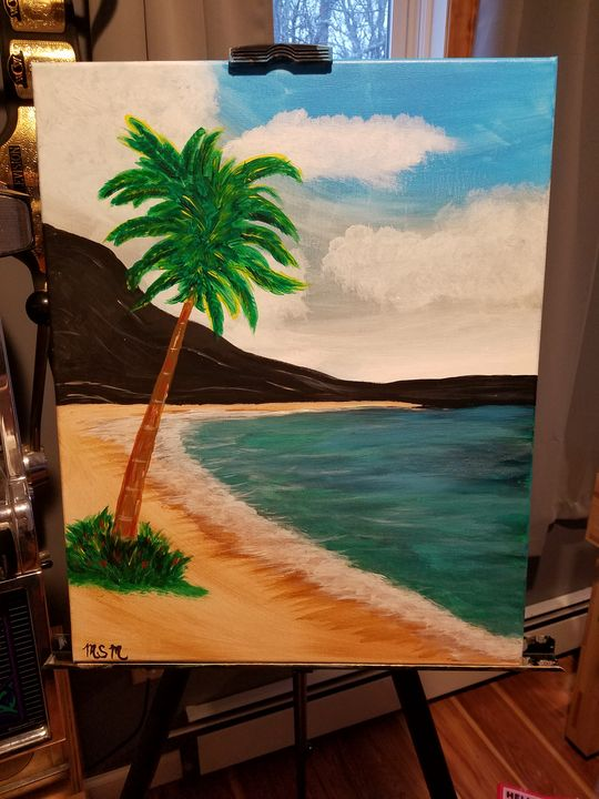 Life's a Beach - Canvas Art by Matt Medeiros