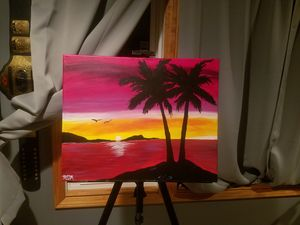Tropical Sunset *Sold*