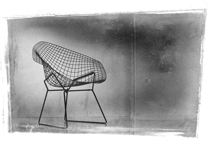 Bertoia Diamond Chair - david ridley